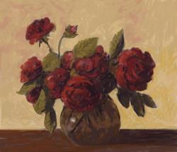Picturi cu flori trandafir in vas .. 15..