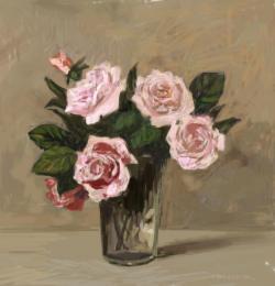 Picturi cu flori trandafiri 20.