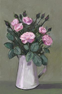 Picturi cu flori trandafiri in cana 7..
