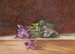 Picturi cu flori violete .6