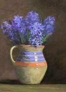 Picturi cu flori Zambile in vas