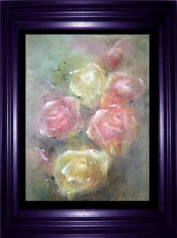 Picturi cu flori Buchet de trandafiri_