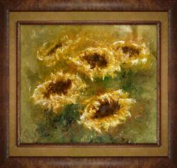 Picturi cu flori Florea soarelui_I
