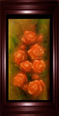 Picturi cu flori Trandafirii iubirii
