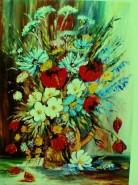 Picturi cu flori Bucurie
