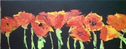 Picturi cu flori Maci 2