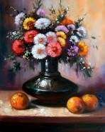 Picturi cu flori Buchet de toamna