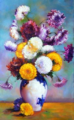 Picturi cu flori flori 43