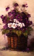 Picturi cu flori Violete