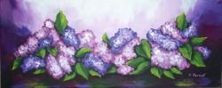 Picturi cu flori Mult liliac