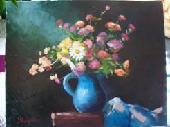 Picturi cu flori Buchet