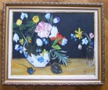 Picturi cu flori Natura moarta cu flori