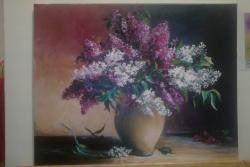 Picturi cu flori LILIAC 01