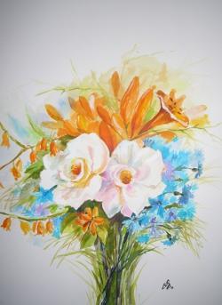 Picturi cu flori Beauty Summer 4