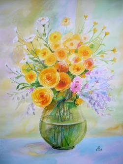 Picturi cu flori Bouquet 16