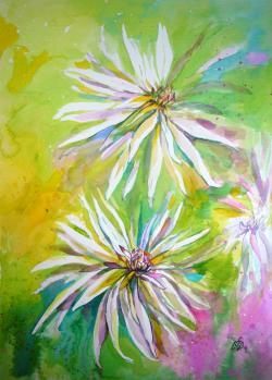 Picturi cu flori Dahlia 1