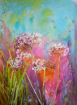Picturi cu flori Dandelion2