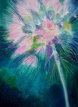 Picturi cu flori Dandelion 4
