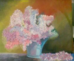 Picturi cu flori Flori de liliac - 3