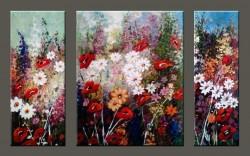Picturi cu flori Explozie florala