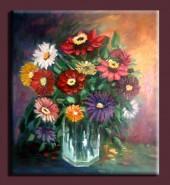 Picturi cu flori Pahar cu flori