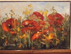 Picturi cu flori Camp inflorit