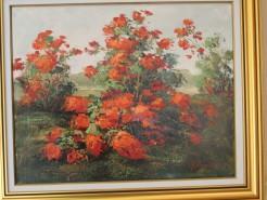 Picturi cu flori Rododendroni