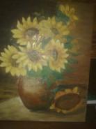Picturi cu flori Flori de soare2