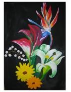 Picturi cu flori In intuneric