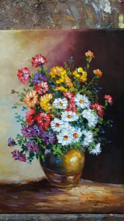 Picturi cu flori flori ambientale
