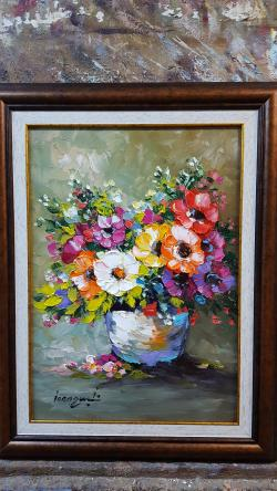 Picturi cu flori flori  ambientle 3