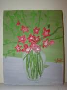 Picturi cu flori Parfum de stele