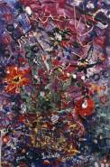 Picturi cu flori Vas cu flori salbatice