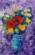 Picturi cu flori Vaza cu flori normale