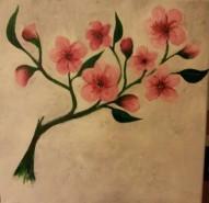 Picturi cu flori Apple blossom