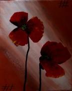 Picturi cu flori Mac 3