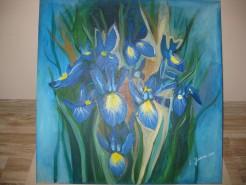 Picturi cu flori Irisi