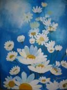 Picturi cu flori Zori de zi