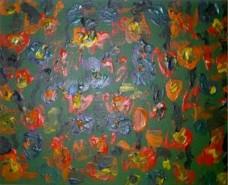 Picturi cu flori Tulips from the dam