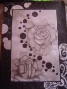 Picturi cu flori Rama de laviu