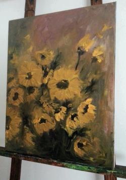 Picturi cu flori Tablou23