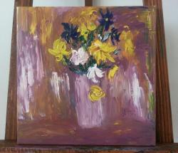 Picturi cu flori Tablou6