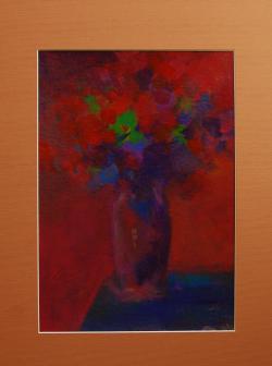 Picturi cu flori amurg