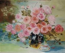 Picturi cu flori Ochiul boului