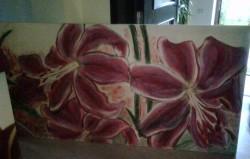 Picturi cu flori Crini 1