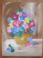 Picturi cu flori Amintiri din spania