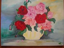 Picturi cu flori Buchet de mai