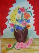 Picturi cu flori Catifea parfumata