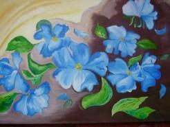 Picturi cu flori Dansul florilor