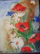Picturi cu flori Frumoasele campului